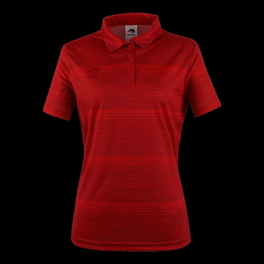 Sak 우먼스 폴로티 3(RED)