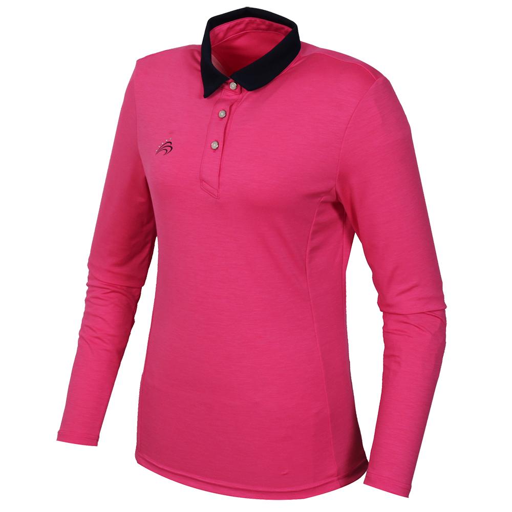 Sak 아스토레 6024(PNK) 골프 캐주얼 여성 카라티셔츠1