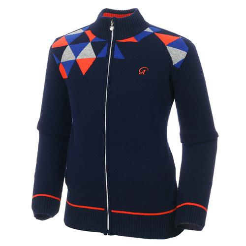 Sak 아스토레 JSG-KJKM60004 골프 캐주얼 스웨터자켓(NA)