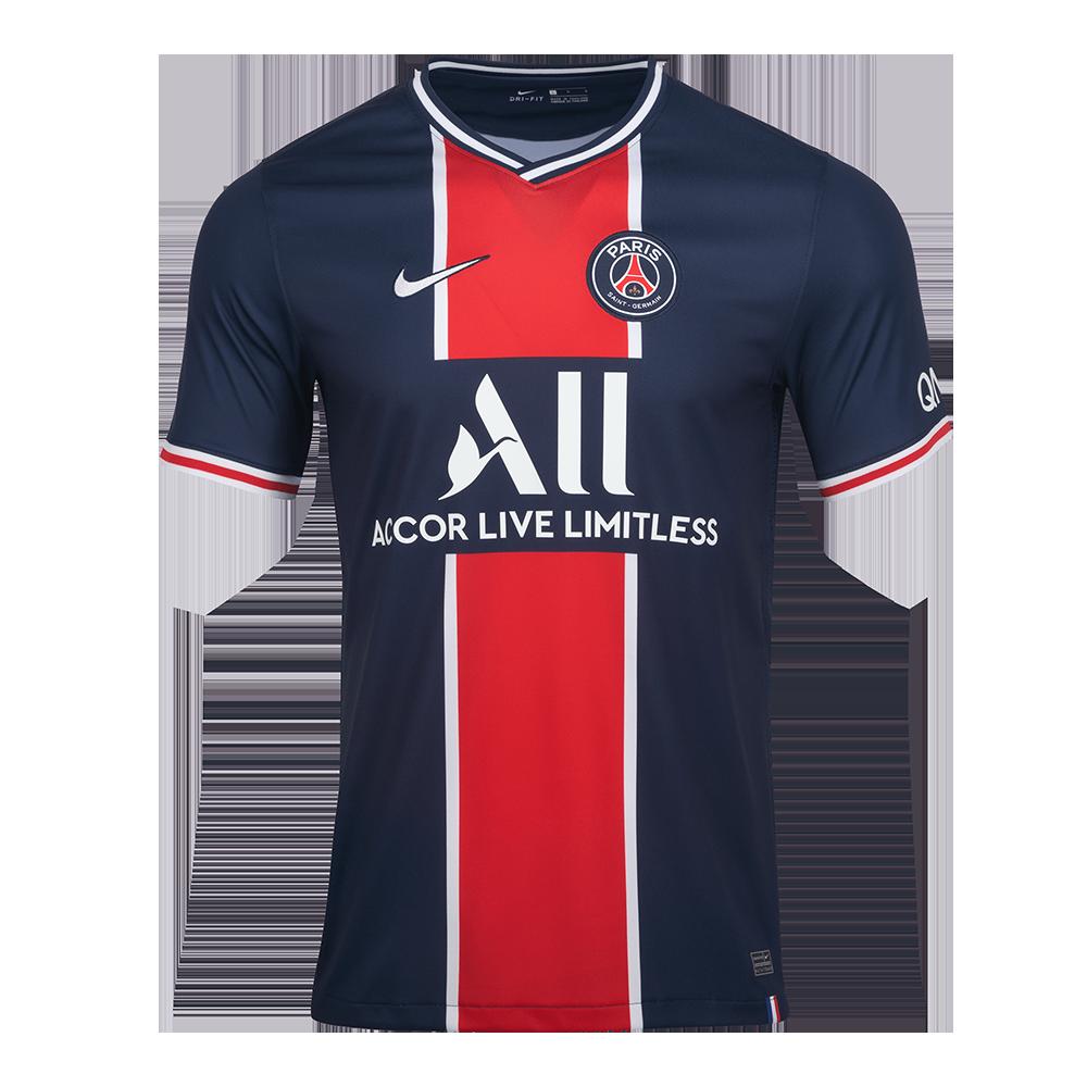 Sak 나이키 파리 생제르맹 2020/21 스타디움 홈 숏슬리브 저지(CD4242411)