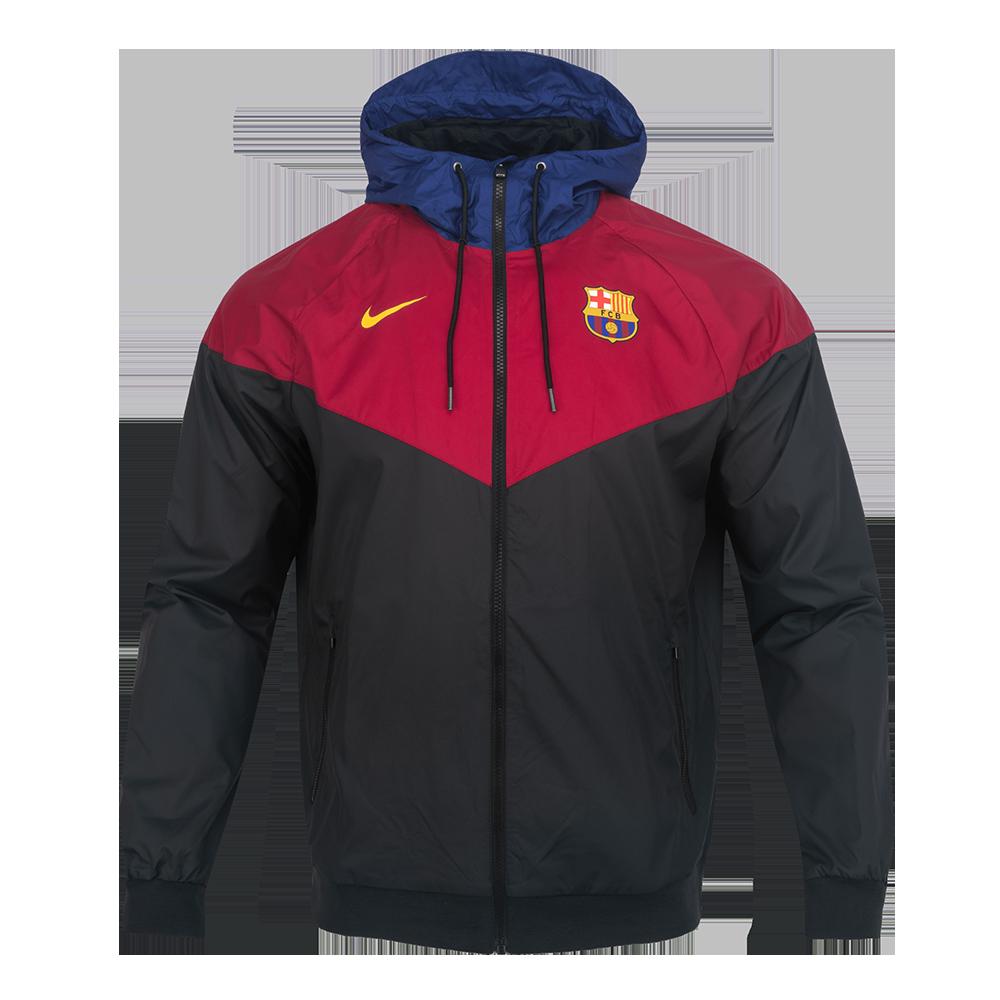 Sak FC 바르셀로나 윈드 러너 우븐 후디 재킷(CI9252010)