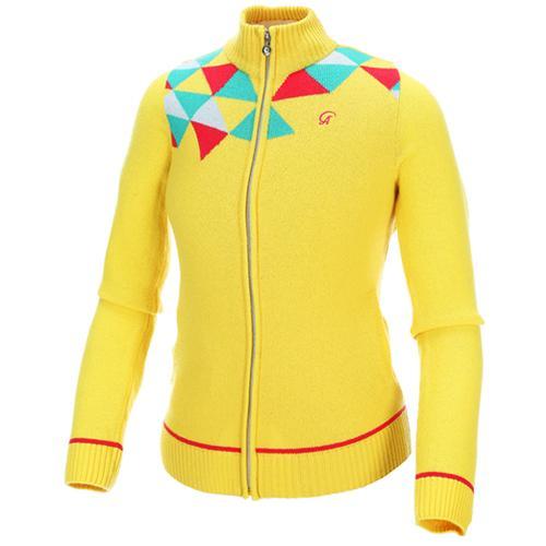 Sak 아스토레 JSG-KJKW60005 골프 캐주얼 스웨터자켓(YE)