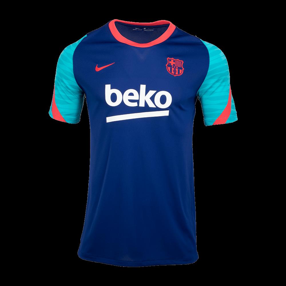 Sak 나이키 FC 바르셀로나 스트라이크 숏슬리브 탑(CW1611456)