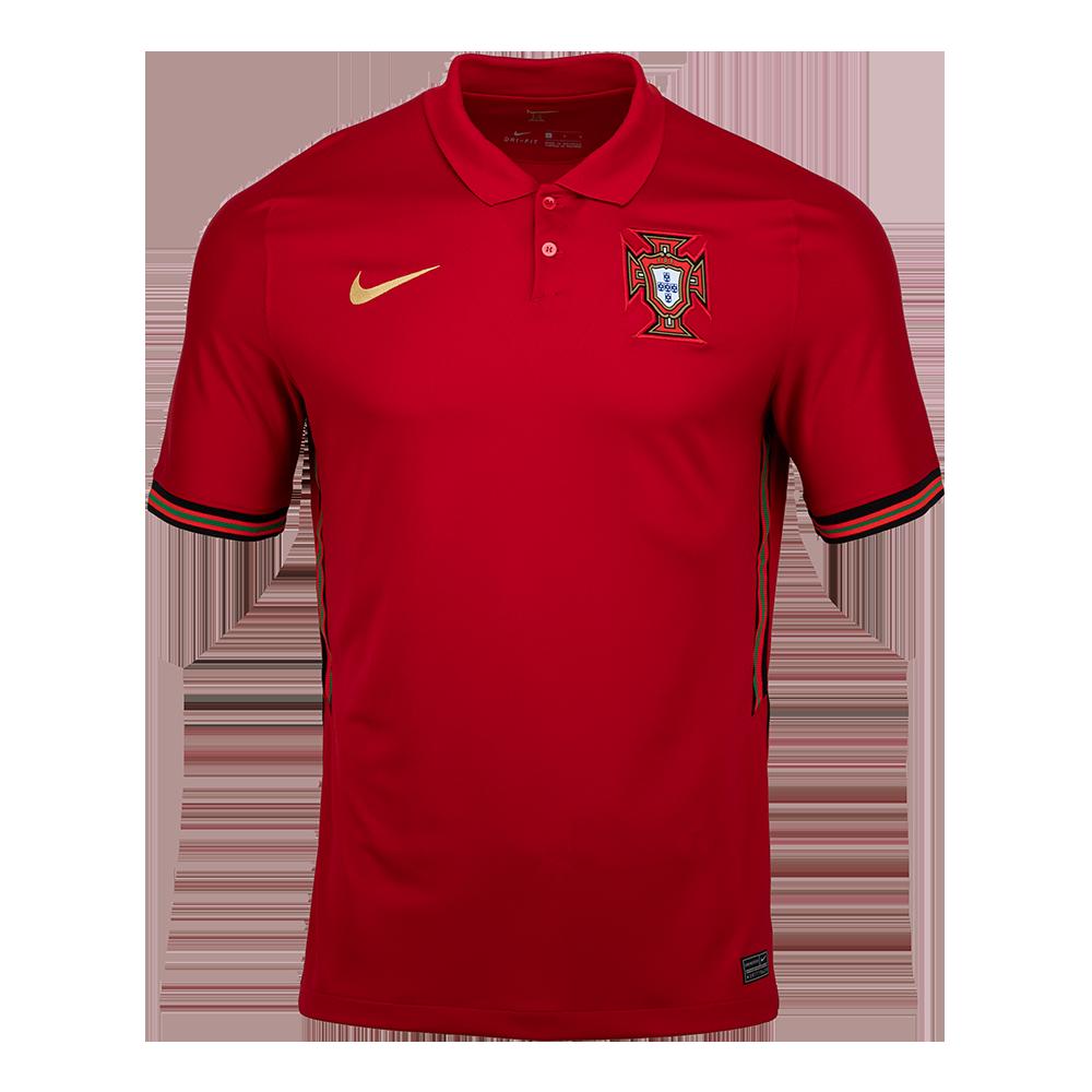 Sak 나이키 포르투갈 2020 스타디움 홈 숏슬리브 저지(CD0704687)