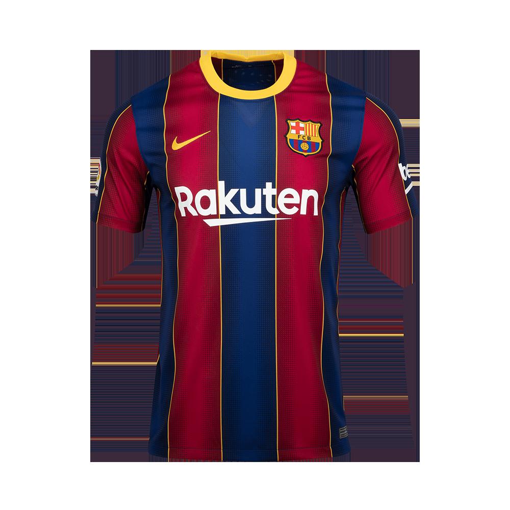 Sak 유소년 나이키 FC 바르셀로나 BRT 스타디움 홈 숏슬리브 저지(CD4500456)